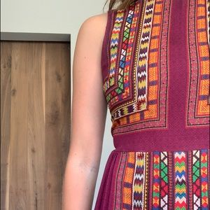 anthropologie tribal dress